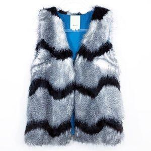 RARE ANTHROPOLOGIE x Elevenses | ostrich fur vest